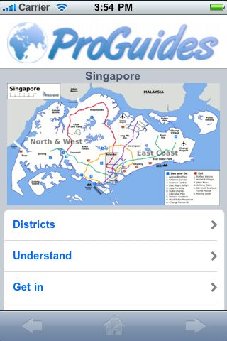 ProGuides - Singapore screenshot #1