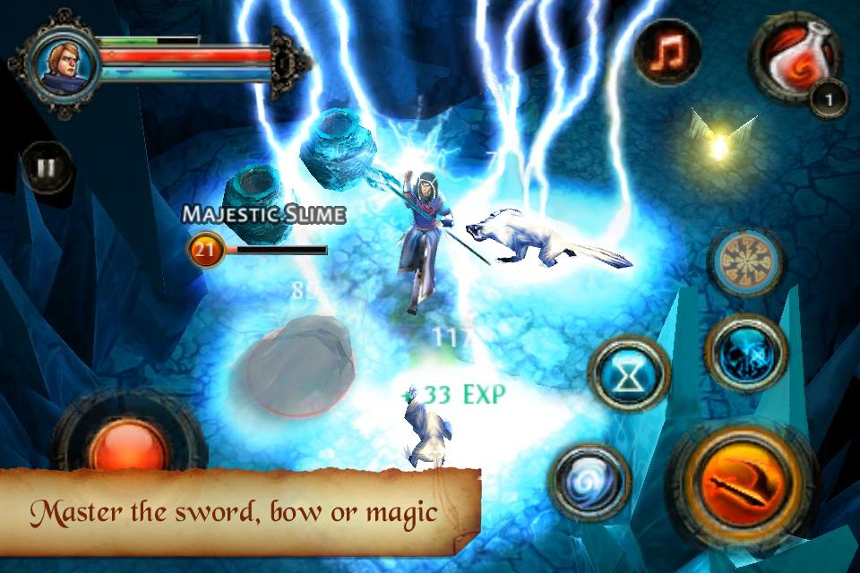 Dungeon Hunter 2 FREE screenshot #3