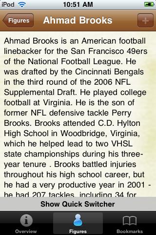 All Time Cincinnati Football Roster screenshot #2