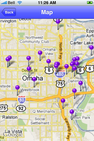 Omaha, Nebraska Sights screenshot #1