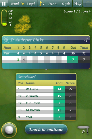 The Old Course screenshot 5