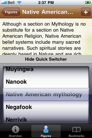 Native American Mythology screenshot #3