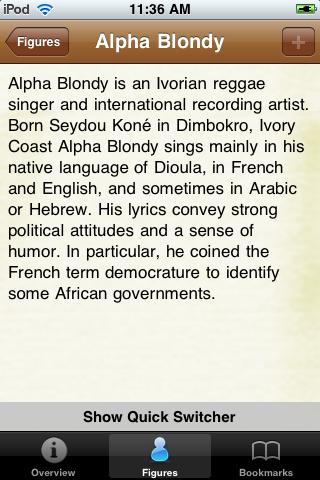 Reggae Stars Pocket Book screenshot #3