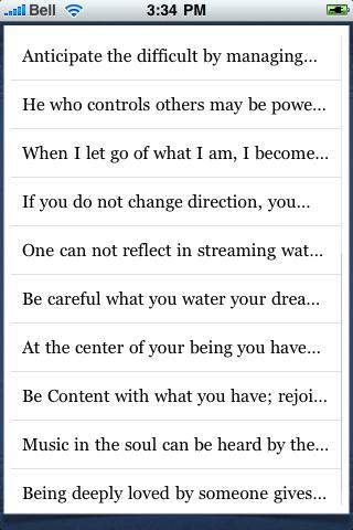 Lao Tzu Quotes screenshot #3