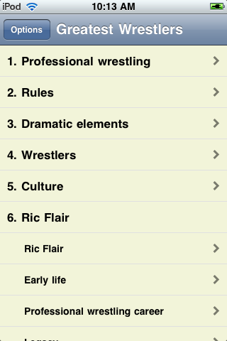 The Greatest Wrestlers of All Time screenshot #3