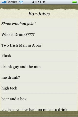 Bar Jokes screenshot #3