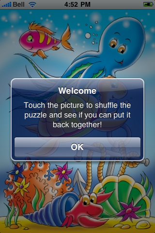 Under the Sea Slide Puzzle screenshot #2
