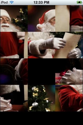 Slide Puzzle - Santa's List screenshot #2