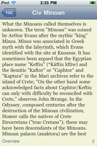 The Minoan Civilization screenshot #2