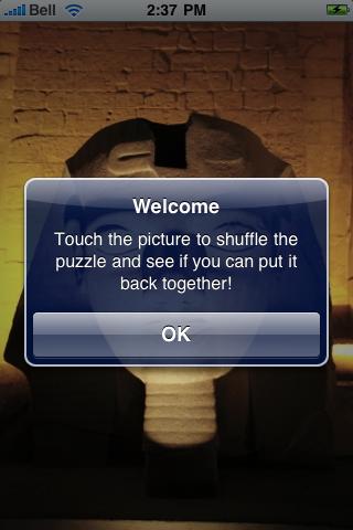 Ancient Egypt Slide Puzzle screenshot #2