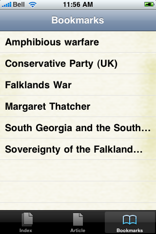 Falklands War Study Guide screenshot #2