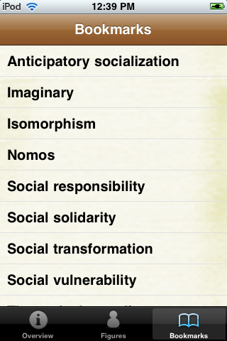 Sociology Terms screenshot #5