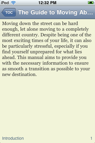 The Guide to Moving Abroad screenshot #3