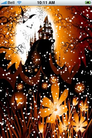Spooky Halloween Snow Globe screenshot #2