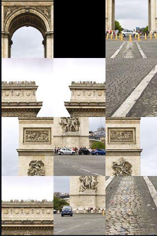 SlidePuzzle - Arc de Triomphe screenshot #1