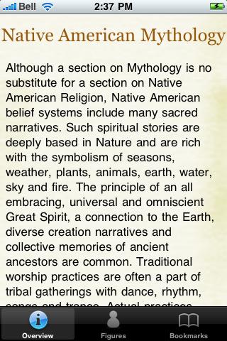 Native American Mythology screenshot #5