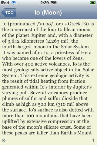 Io - Jupiter's Moon screenshot #2