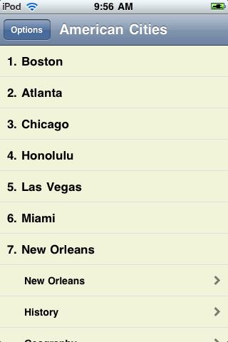 The Big Book of American Cities screenshot #3