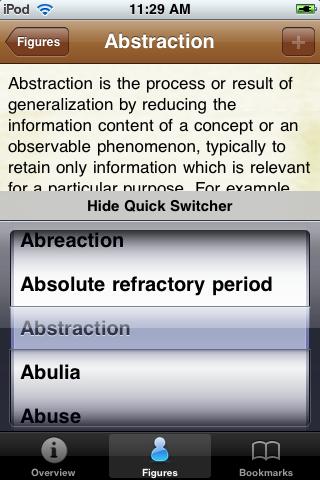 Psychology Terms Pocket Book screenshot #4