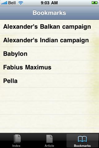 Alexander the Great Study Guide screenshot #2