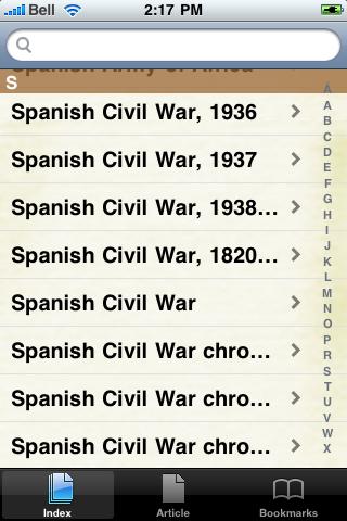 The Spanish Civil War Study Guide screenshot #3