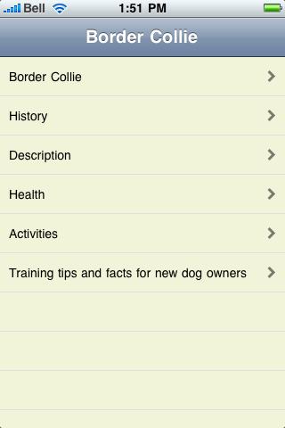 The Border Collie Book screenshot #1