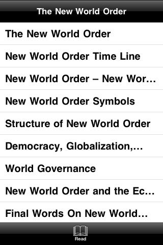 The New World Order screenshot #3