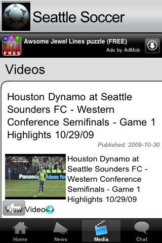 Soccer Fans - Seattle screenshot #2