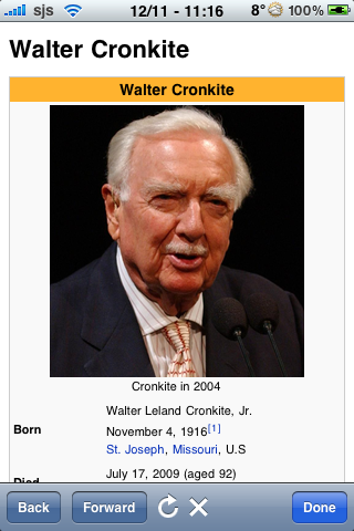 Walter Cronkite Quotes image #1