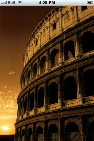 Roman Colosseum Slide Puzzle screenshot #1