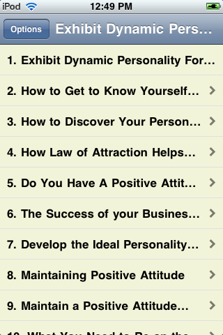 Exhibit Dynamic Personality for Super Success screenshot #1