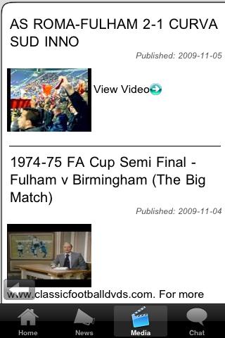 Football Fans - East Stirlingshire screenshot #4