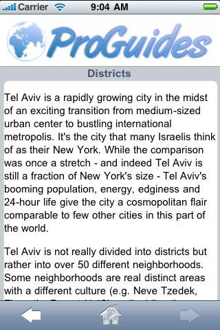 ProGuides - Tel Aviv screenshot #3
