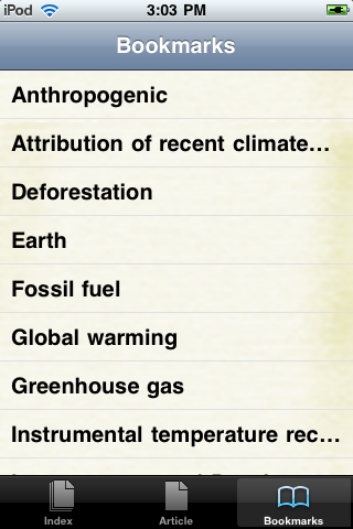 Global Warming Study Guide screenshot #3