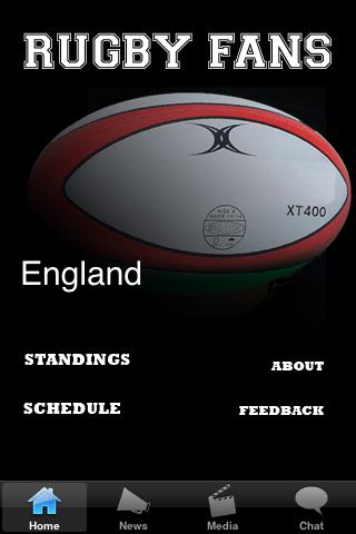 Rugby Fans - England screenshot #1