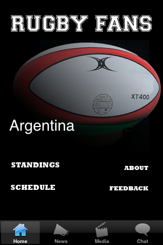 Rugby Fans - Argentina screenshot #1