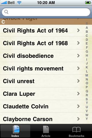 The Civil Rights Movement Study Guide screenshot #3