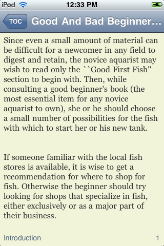 Good And Bad Beginner Fish screenshot #3