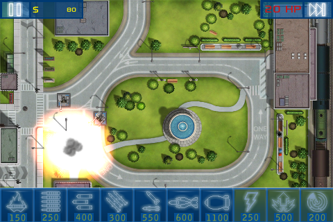 Act of War: Urban Defense screenshot #2