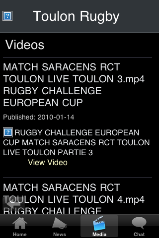 Rugby Fans - Toulon screenshot #3