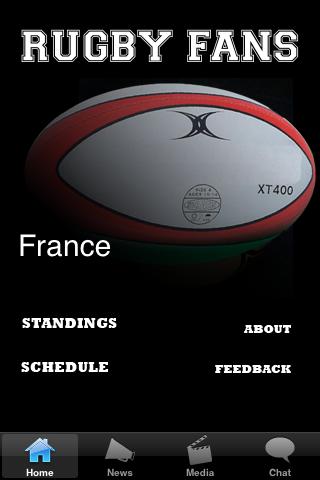 Rugby Fans - France screenshot #1
