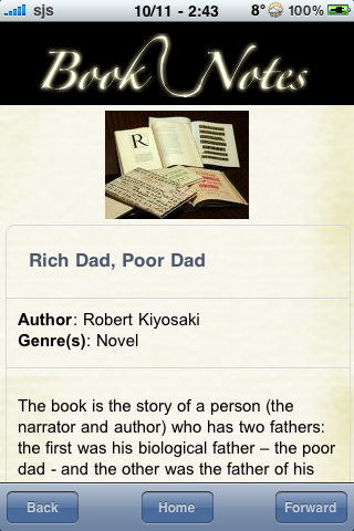 Book Notes - Rich Dad, Poor Dad screenshot #3