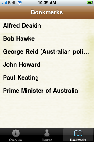Prime Ministers of Australia Pocket Book screenshot #5