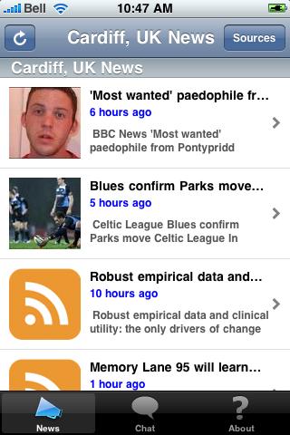 Cardiff, UK News screenshot #2