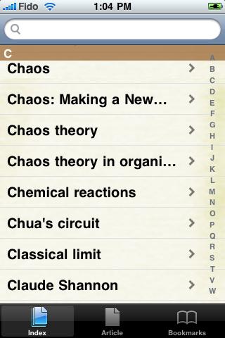 Chaos Theory Study Guide screenshot #2