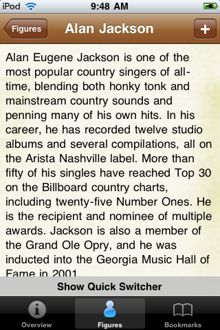 Country Music Artists Pocket Book screenshot #3