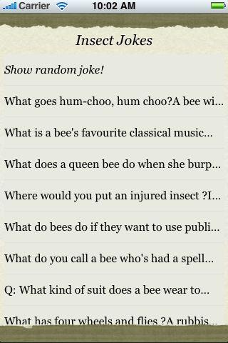 Insect Jokes screenshot #3