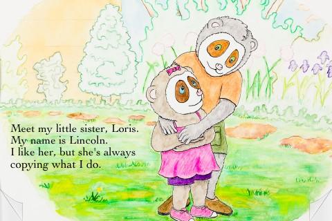Loris and the Runaway Ball screenshot 1