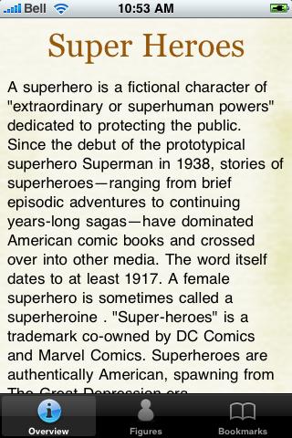 Super Heroes Pocket Book screenshot #2
