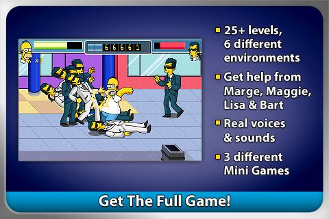 The Simpsons Arcade FREE screenshot 5